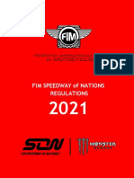 FIM Speedway of Nations Rulebook - 16.12.2020