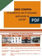 Como compra el gobierno de El Salvador