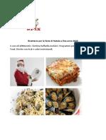 Ricettario Feste Di Natale e Di Fine Anno 2020