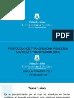 Prot Transfusiones