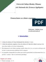 Nomenclature chimie organique