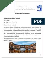 Investigación de puentes
