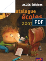 CatalogueACCES2007