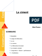 Formation Béton - 2 Le Ciment