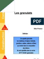 Formation Béton - 3 Les Granulats