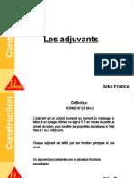Formation Béton - 4 Les Adjuvants
