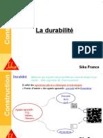 Formation Béton - 9 La Durabilité