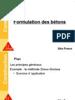 Formation Béton -5 Formulation Des Bétons