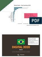 USO DE INTERNET NO BRASIL