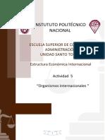 Actividad 5_ESEC_Organismos Internacionales