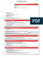 Sicherheitsdatenblatt Two stroke oil DSH (FR)