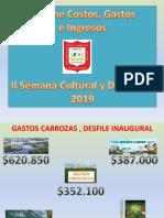 INFORME FINANCIERO SEMANA CULTURAL
