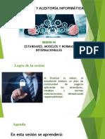 Estándares, modelos y normas internacionales