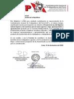 Proyecto de nuevo régimen laboral agrario de especialistas y CGTP