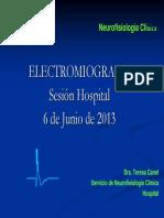 ELECTROMIOGRAFIA SESION HOSPITAL