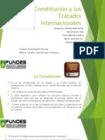 La Constitución y los Tratados Internacionales exposicion.
