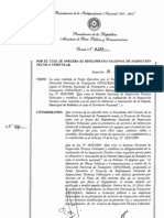Decreto 6139-11 Reglamenta Control Técnico Vehicular