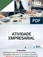 Direito empresarial - 03 e 04