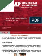 6. Niveles del lenguaje.ppt