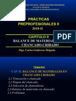 CAPITULO II PRACTICAS PREPROFESIONALES II 2018-II
