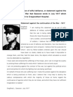 Sassoon Declaration[1]