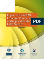 Impact of the ASEAN Economic Community and Implications for Latin America.