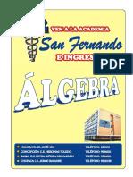 Problemas Propuestos de Algebra PRE-U Ccesa007