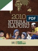 İHH İnsani Yardım Vakfı 2010 Kurban Raporu