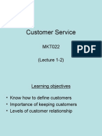 Customer Service - Lecture 1 - 2