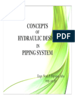 Concepts of Hydraulic Design in Piping System_081818