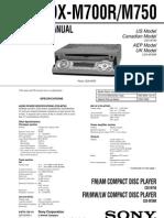 CDX-M700RM750