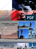 Rizal monuments in the Philippines and abroad