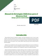 manual Discurso oral