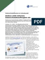 Datenschutzoffensive im Onlinehandel