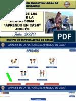 5_INGLES_ANALISIS DE LAS GUIÁS DE APRENDO EN CASA