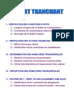 08 Poutres Effort tranchant.doc