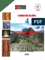 4. CUARTO_GRADO - Comunicación 2020