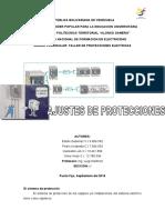 Trabajo sobre Ajustes y Coordinación de Tensión.doc