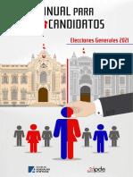 Manual para Candidatos Elecciones generales 2021