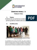 Trabajo Final asignatura DER-221