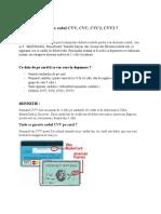 codul CVV