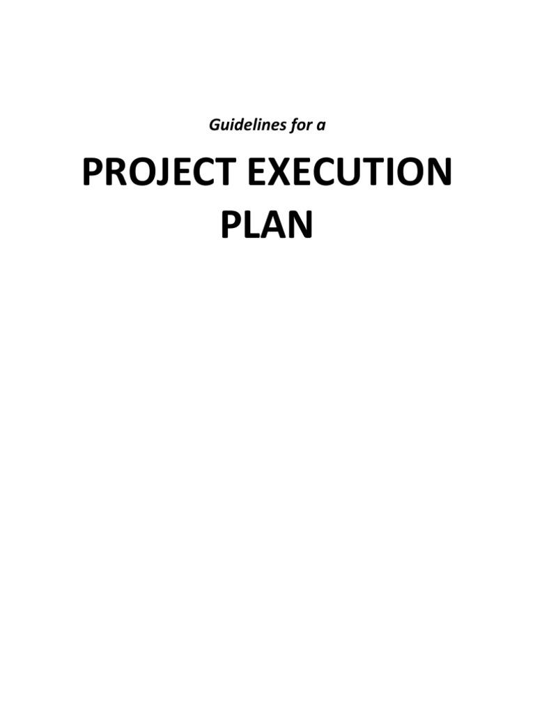 Project Execution Plan | Logistics | Business Process