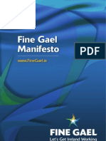 Fine Gael #ge11 Manifesto