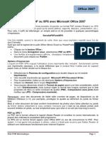 creer des fichiers PDF