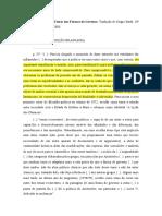 BOBBIO, N. Teoria Formas Governo (ficha de leitura).
