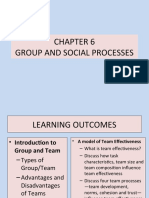 CHAPTER 6 - GROUP AND SOCIAL PROCESSES-REVISED