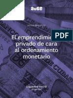 AUGE_Ordenamiento Monetario