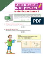 Sistema-de-Ecuaciones-Lineales-para-Quinto-de-Primaria