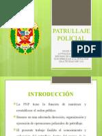 PPT PATRULLAJE POLICIAL