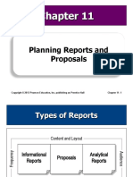 11 Planning Reports and Proposals